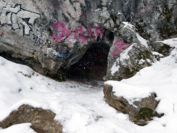 Kadzielnia Kielce - graffiti