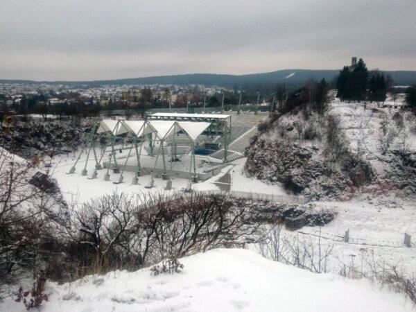 Amfiteatr Kadzielnia zima