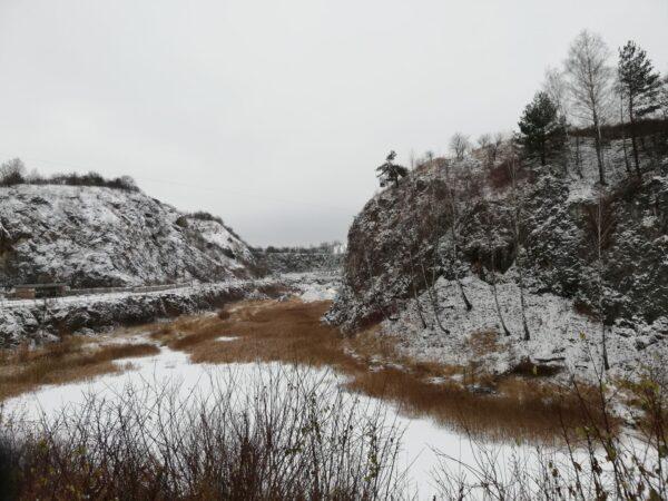 Kadzielnia Kielce zima