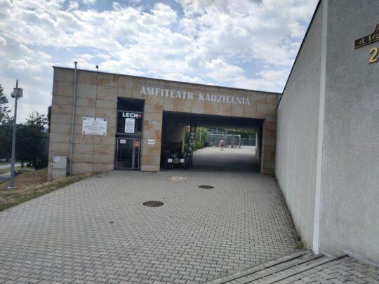 Amfiteatr Kadzielnia Wejscie