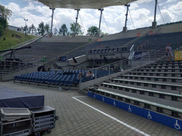 Amfiteatr Kadzielnia Widownia