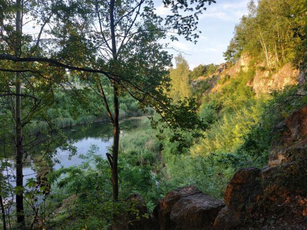 Jezioro Szmaragdowe Kadzielnia