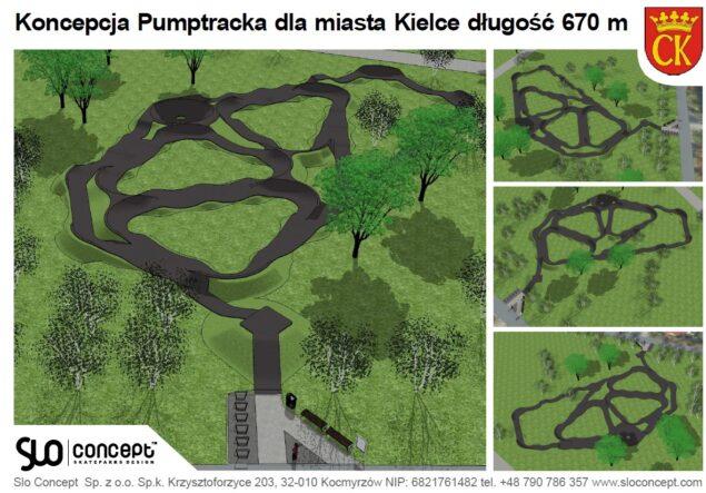 Pumptrack Kadzelnia Kielce